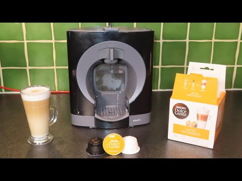 How To Use NESCAFÉ® Dolce Gusto® Oblo Coffee Machine By Krups®