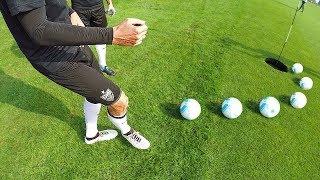 Fußball-Golf Challenge gegen VfB Stuttgart PROFIS