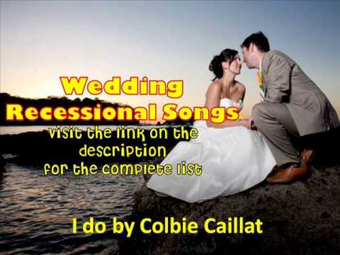 Wedding Recessional Songs 2013