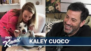 Kaley Cuoco on Moving in with Husband and Their Many Dogs & Mugs