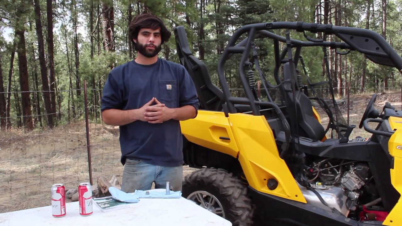 UTV Maintenance: Oil Change Can-Am Commander 1000