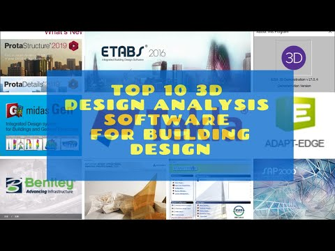 Top 10 3d Structural Design Software For Building Design Youtube