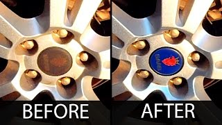 How To Clean Saab Wheel Emblems in 15 Seconds or Less