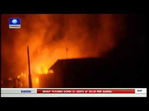 Network Africa: Lagos Fire Outbreak Kills 3 Children 31/07/15