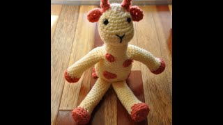 How To Read A Crochet Pattern #1 Amigurumi Giraffe
