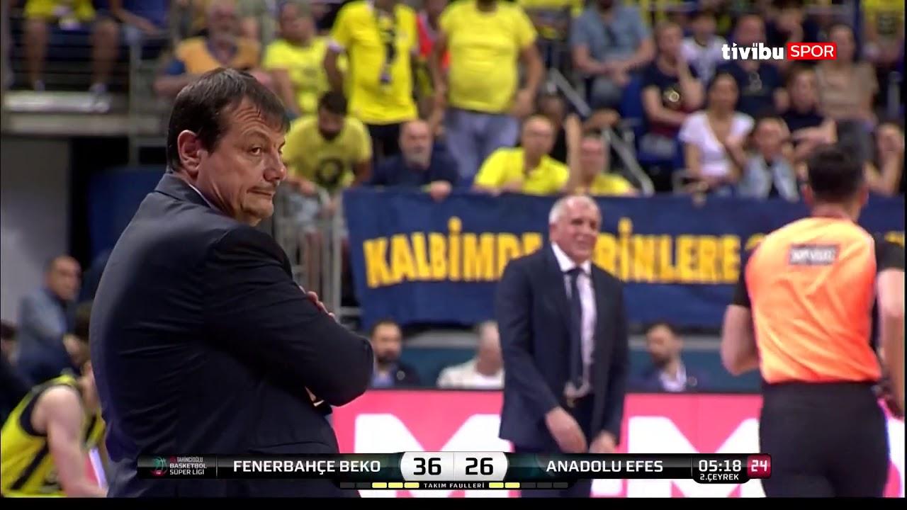 #BSL #Playoff 4. Maç: Fenerbahçe Beko - Anadolu Efes