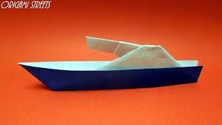 Как сделать военный корабль из бумаги. Оригами военный корабль