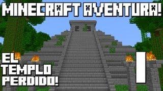 Minecraft 1.5.2 Mapa Aventura El Templo Perdido! Cap.1