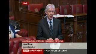 Lord Bew in the House of Lords on Ahmadiyya Muslims UK: 24 May 2012