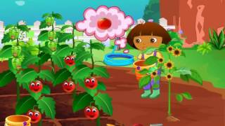 Мультик игра Даша на ферме (Dora in the Farm)