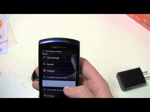 Sony Ericsson Xperia PLAY 4G Unboxing