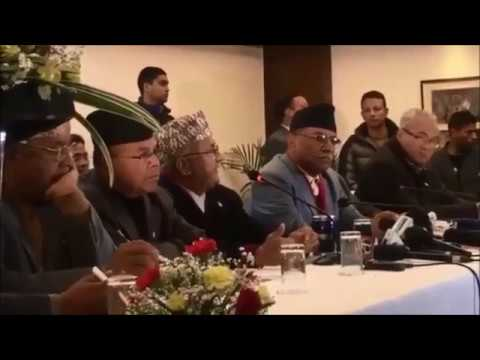 Joint Press Conference of Nepalese Communist Parties
