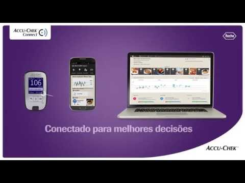 Sistema de Gestão do Diabetes Accu-Chek Connect