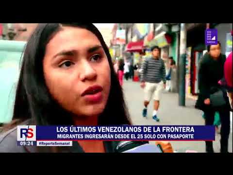 Reporte Semanal: los últimos venezolanos de la frontera