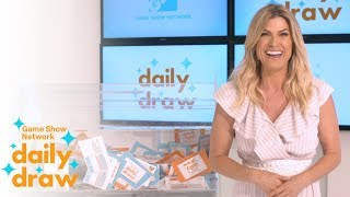Daily Draw $500 Winner with Trish Suhr | July 27th, 2018 | Game Show Network