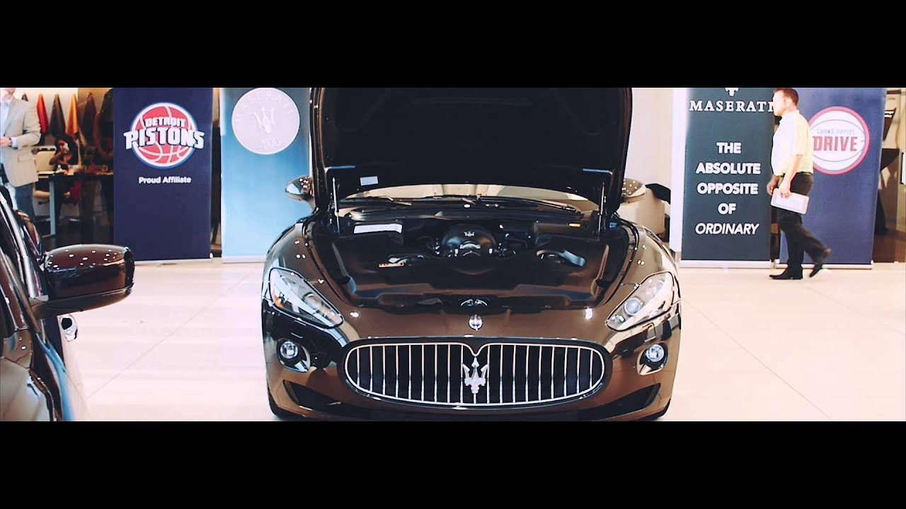Zeigler Maserati of Grandville and Grand Rapids Drive Event held at