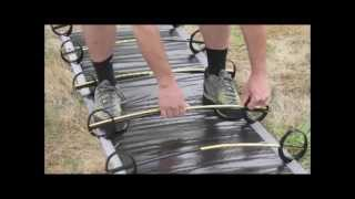 Camping Cot  - How to Set up Camping Cot Therm-A-Rest LuxuryLite UltraLite