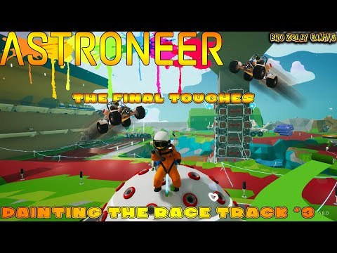 🔴 Astroneer Live - Time To Finish The Track Ready For Race Day - Astro Kart - Giveaway