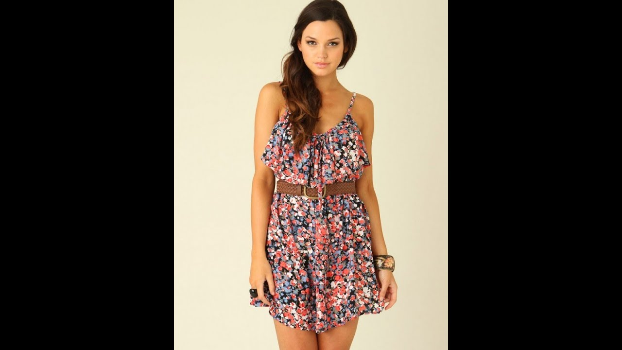 96070a520efb5 Yeni Sezon Yazlık Elbise Modelleri - YouTube