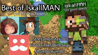 Best Of IskallMAN (with reactions) Hermit Challenges | Hermitcraft Season 7