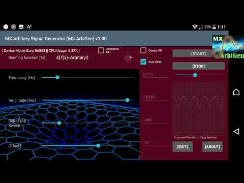 MX Arbitary Signal Generator - MX Arbigen