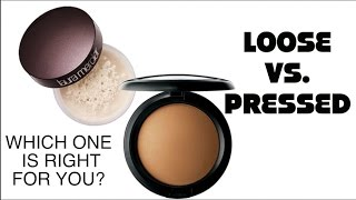 Loose Setting Powder vs Pressed Powder