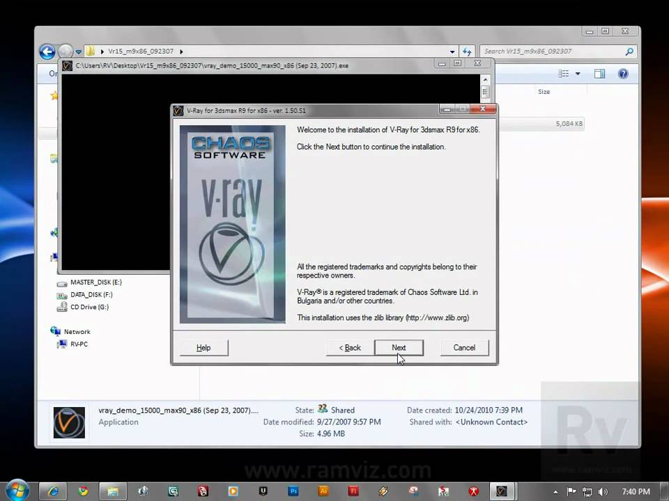 How to install vray in 3ds max 2010 youtube.
