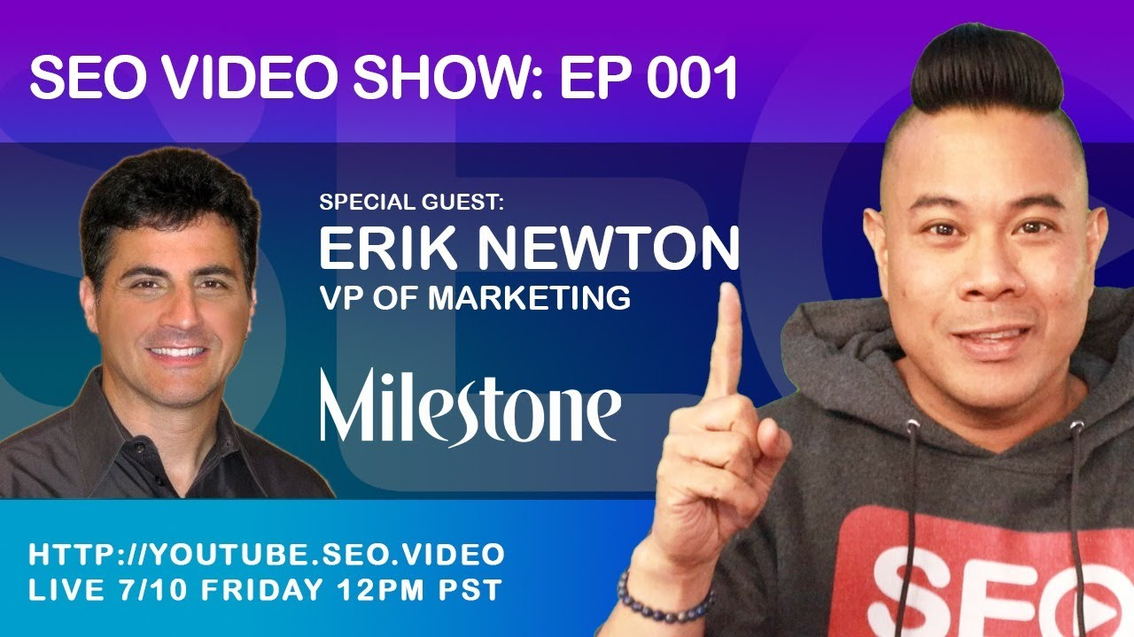 ▷ SEO Video Show: Episode 001 - Erik Newton, Google News, Schema, SEO Tips and Becoming an SEO