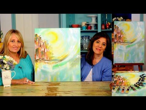 Cuadro Abstracto - Oleos - Colores Titanatos - Claudia Kunze
