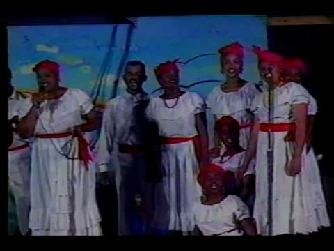 Grenada-National Folk Group-Golden Days of Rainbow City Festival 1995