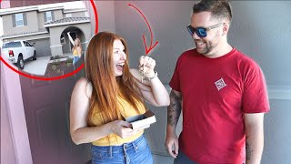 Getting the keys to our NEW HOUSE!