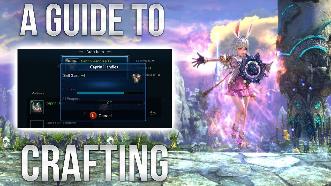 tera how to get apex skills