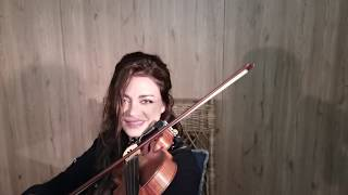 Cover by Hanine the Oriental violinist - Andante Levante - Shantel