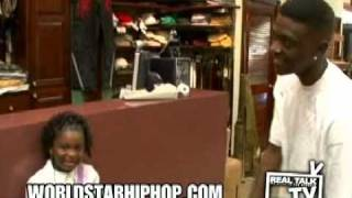 Lil Boosie Goes Shopping and Borrows Money From His Daughter