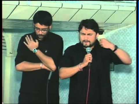 SYED RAZA ABBAS ZAIDI and MIR HASSAN MIR Live Noha Khowani At 3 Rabi-ul-Awal 2012 Part 1