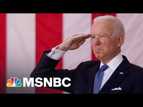 Biden Warns U.S. Democracy Troops Fought For Is Now In Danger