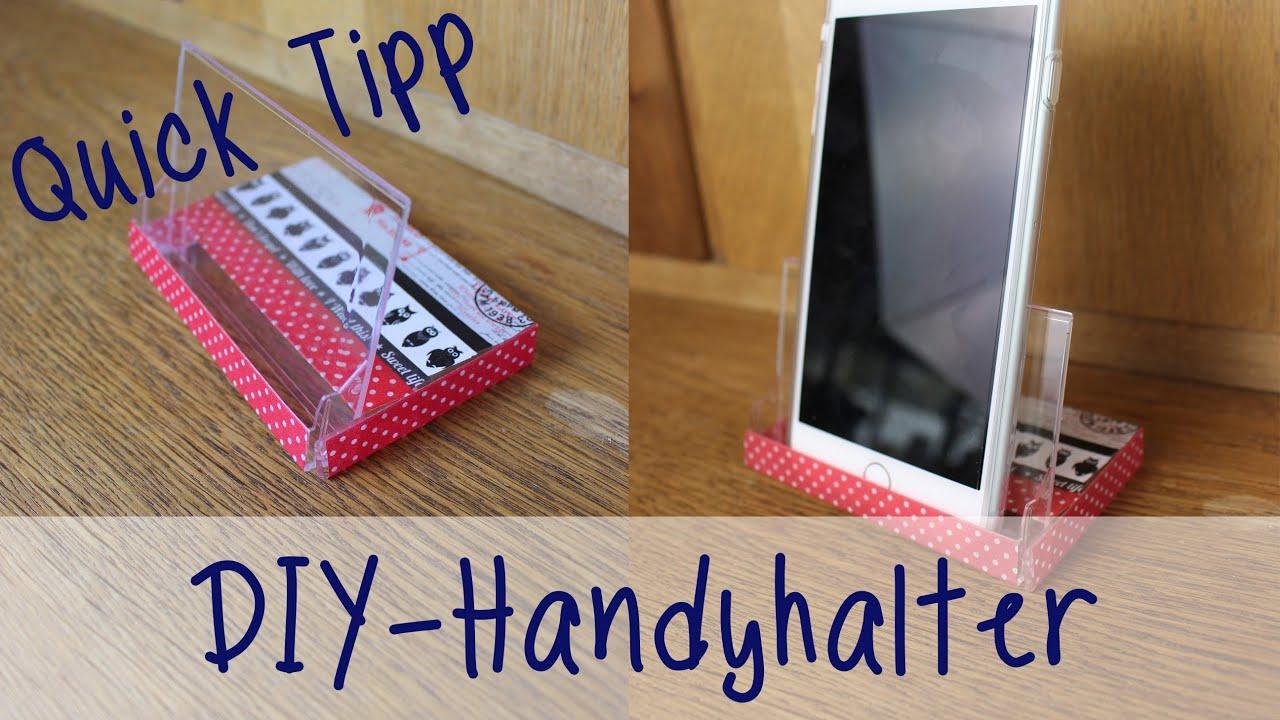 julias 39 s tillishop diy 39 s handyhalter quick tipp youtube. Black Bedroom Furniture Sets. Home Design Ideas