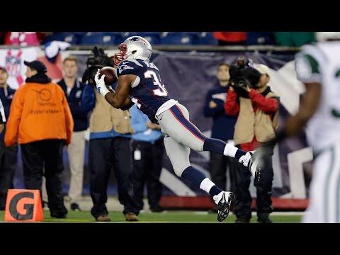 Shane Vereen goes horizontal on 49-yard Tom Brady touchdown pass (Week 7, 2014)