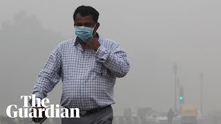 Delhi residents react as toxic smog blankets city: 'It's suffocating'