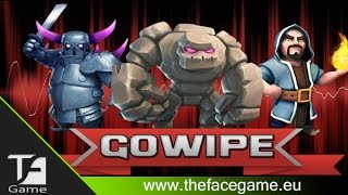 GOLEM+MAGHI+PEKKA --Attacco Clash of Clans--