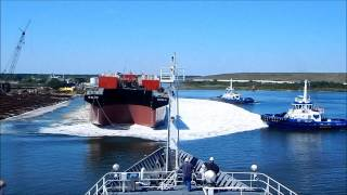 Launch of Barge B. No. 270 for Bouchard Transportation - VT Halter Marine