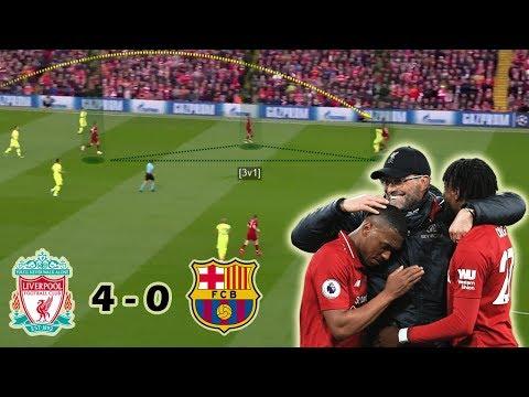 Liverpool Make History by Destroying Barcelona   Liverpool vs Barcelona 4-0   Tactical Analysis