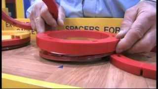 Complete Toilet Flange Extender Repair Kit
