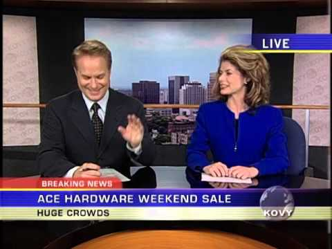 Ivan Allen  Ace Hardware Commercial   Anchors