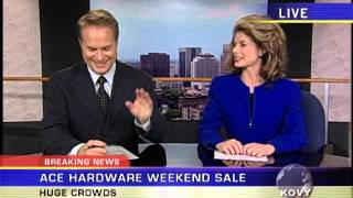 Ivan Allen   Ace Hardware Commercial   News Anchors