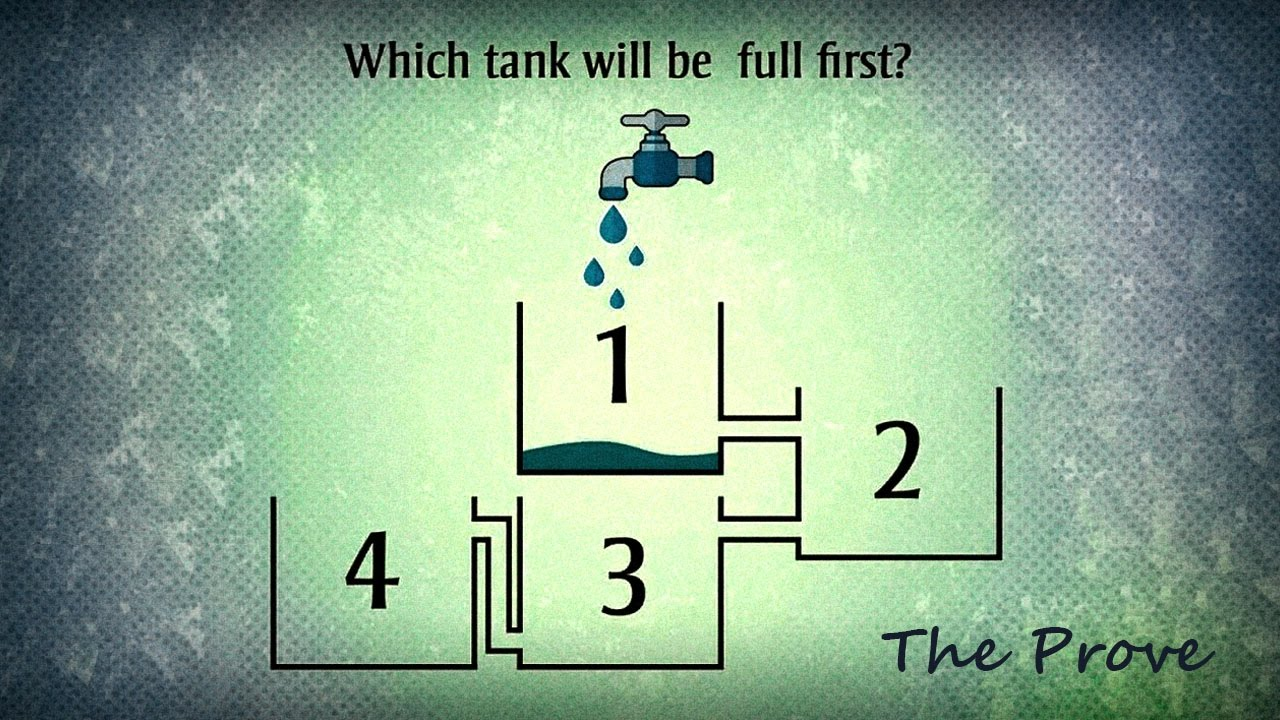which tank will be full first answer