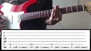 Bring Me The Horizon - Throne - Guitar Lesson