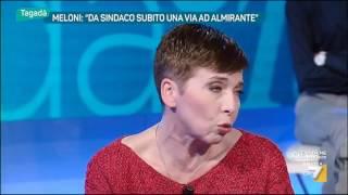 Pivetti:'su Almirante La Meloni Sbaglia'