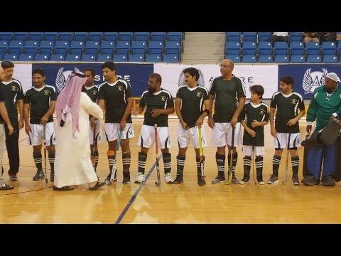 Qatar Indoor Hockey Tournament 2016-17 at Aspire Zone Sports Complex Doha.