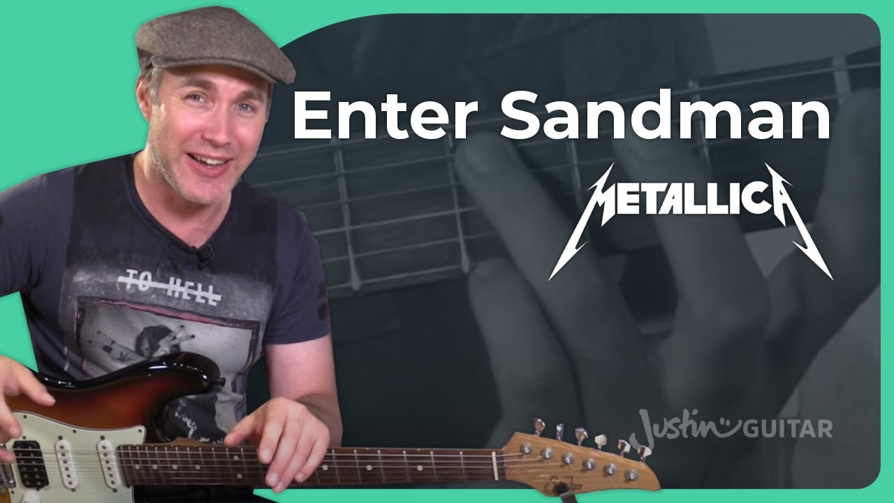 Intersand man metallica guitar